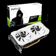 KFA2 GeForce® GTX 1660 Ti EX White (1-Click OC)